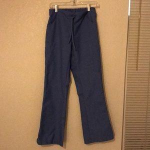 Women's Blue Size X-Small Scrubs Bottom